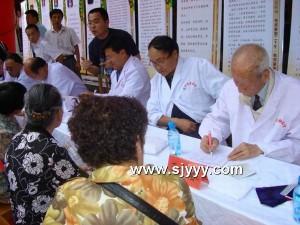 甘肃渭河源国医馆举办大型义诊活动-渭河源官方网站